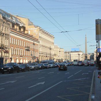 Тест на знание улиц в Санкт-Петербурге
